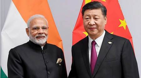 Modi, Xi Jinping, SCO summit, Modi Jinping, Modi Xi Jinping SCO, SCO summit Modi, SCO summit Modi, Indian Express, latest news