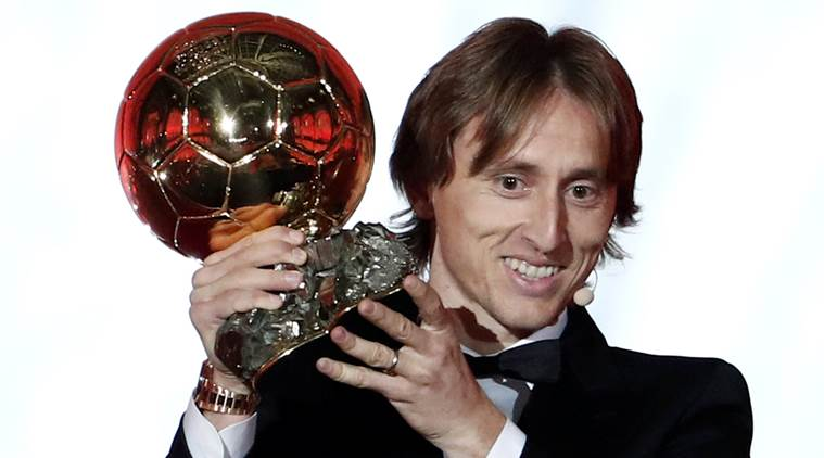 Luka Modric wins Ballon d'Or 2018, breaks decade-long ...