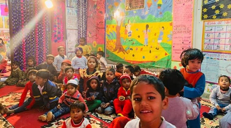 government playschool, Anganwadi play school, Anganwadi hubs,  delhi mohalla clinic, mohalla play school, manish sisodia