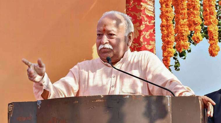 Mohan bhagwat, NE sangh meeting, Mohan bhagwat in tripura, rss meet in tripura, tripura rss meet, Rss chief in tripura, tripura news, indian express