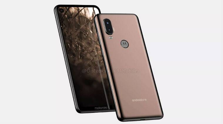 Alleged Motorola P40 renders and 360-degree video leak