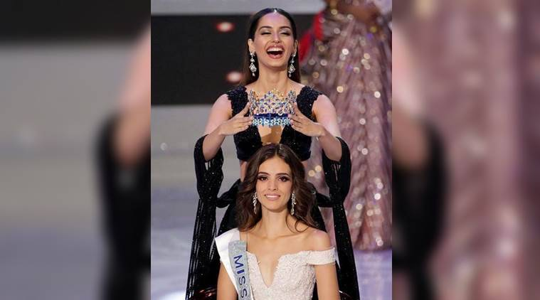 Miss World 2018: Vanessa Ponce de Leon of Mexico on Saturday was crowned as Miss World 2018 by outgoing queen Manushi Chhillar. (Reuters)