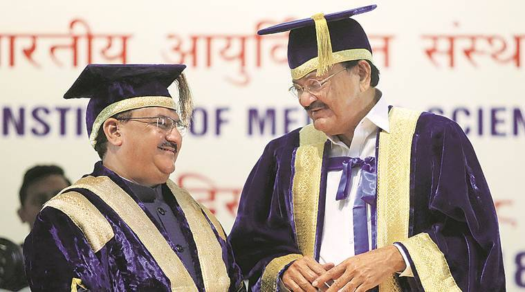 At AIIMS convocation, Naidu pushes for more institutes, rural healthcare and 'Make in India'