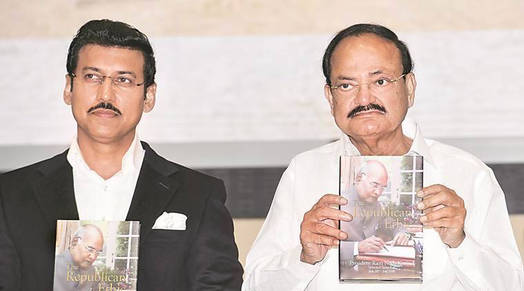 Unfortunate decline in quality of public discourse: Venkaiah Naidu