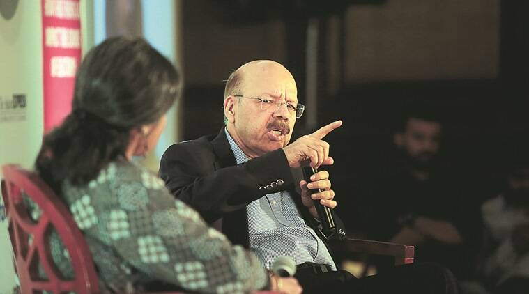 Former Chief Election Commissioner Nasim Zaidi in a fireside chat nasim zaidi