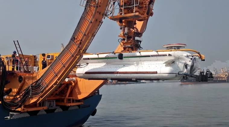 Navy inducts deep submergence rescue vehicle