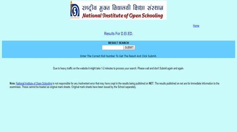 nios result, nios 2018 results, nios.ac.in, nios delded results, nios, nios.ac.in, sarkari results, national institute of open schooling, indian express