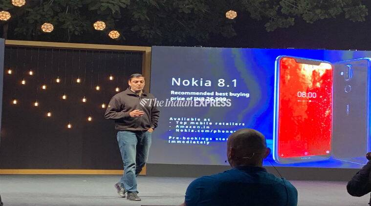 Nokia 8.1 launched in India: Price, specifications, features