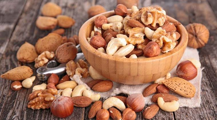 nuts, benefits of nuts, nuts nutrition, nuts health benefit, dementia, ageing population, indian express, indian express news