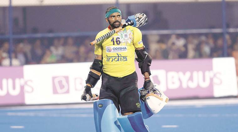 hockey, hockey world cup 2018, pr sreejesh, sreejesh india, hockey india, indian hockey team, india hokcey, hockey news, sports news, indian express sports news