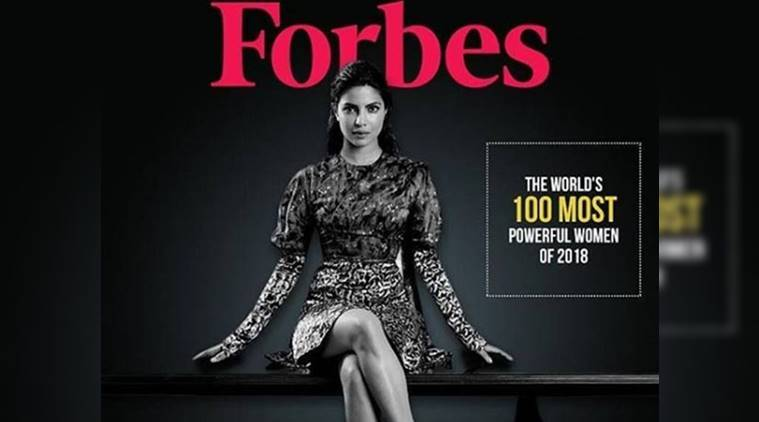 Priyanka Chopra makes it to Forbes list of 100 most powerful women in 2018