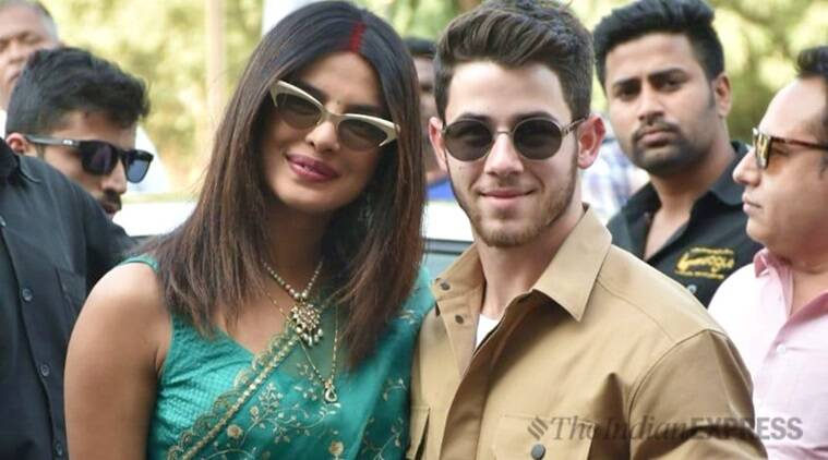 priyanka chopra nick jonas at jodhpur airport