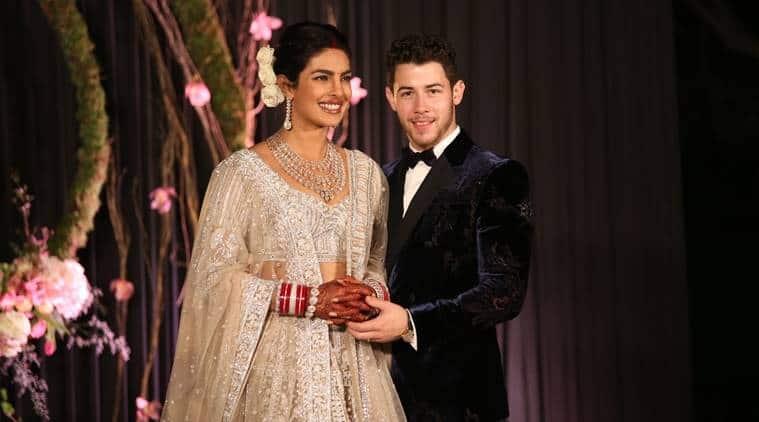 Priyanka Chopra Nick Jonas Delhi Reception The Actor Looks Pretty