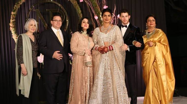priyanka chopra, nick jonas, madhu chopra, wedding stress, how to beat wedding stress, priyanka chopra delhi reception, priyanka chopra nick jonas wedding, priyanka jonas nick chopra wedding updates, nickyanka wedding, priyanka chopra nick jonas wedding latest pictures, priyanka chopra nick jonas christian wedding, latest wedding updates nickyanka, priyanka nick wedding, celeb fashion, bollywood fashion, indian express, indian express news