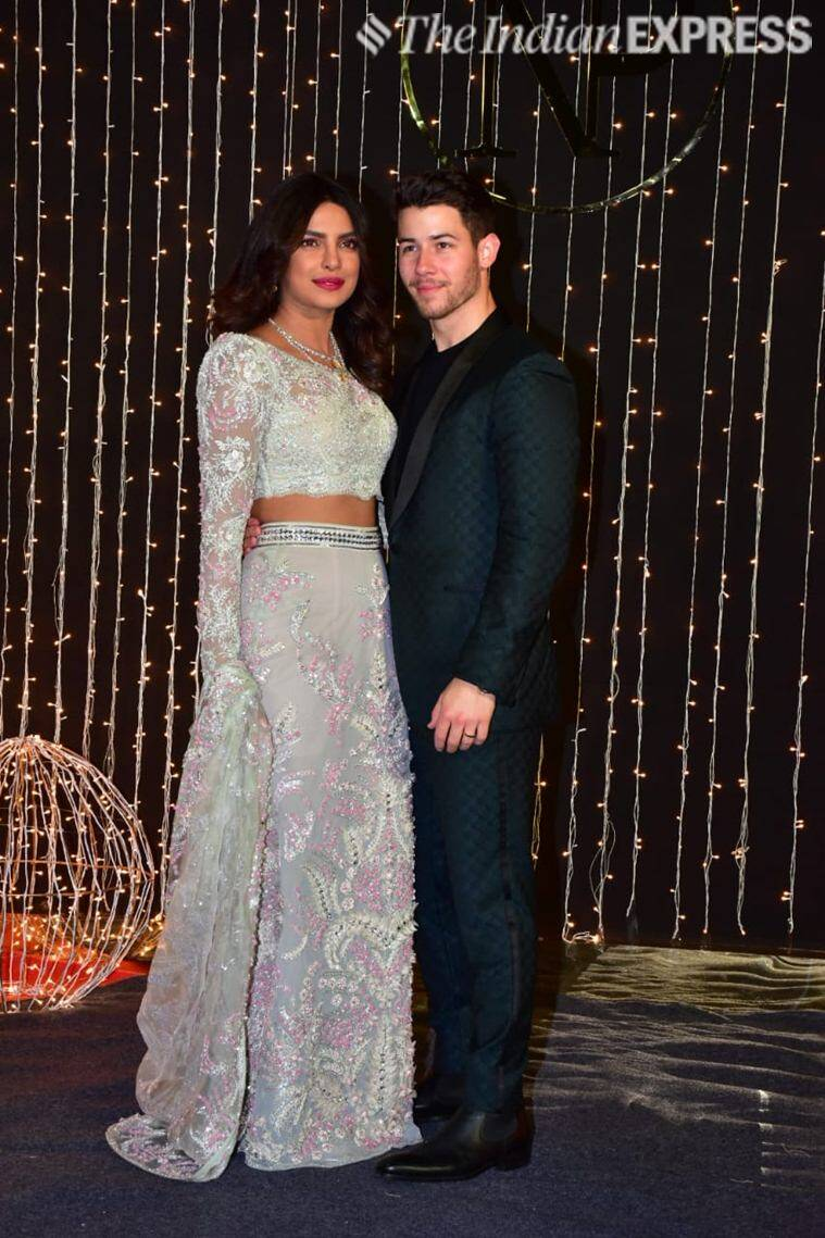 priyanka chopra, nick jonas, priyanka chopra reception, priyanka mumbai reception, priyanka nick reception mumbai, priyanka nick bollywood reception, priyanka chopra reception videos, priyanka reception videos, nickyanka, priyanka chopra latest, priyanka chopra news, celeb fashion, indian express, indian express news