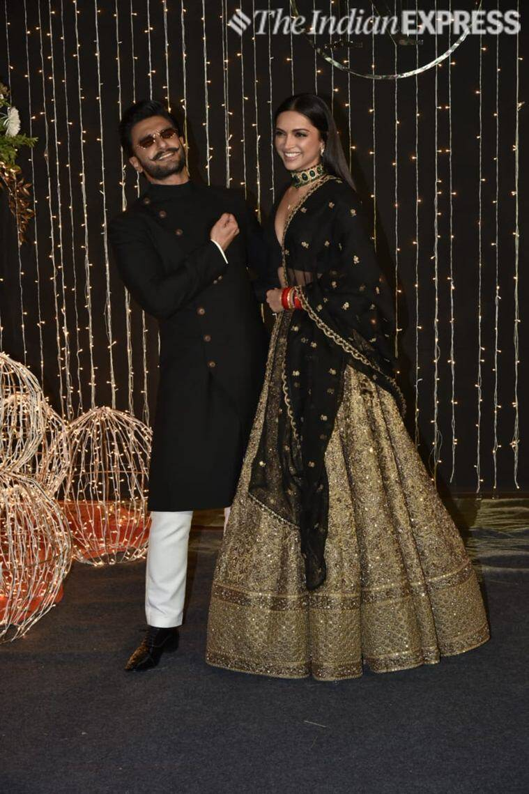deepika, ranveer at priyanka reception