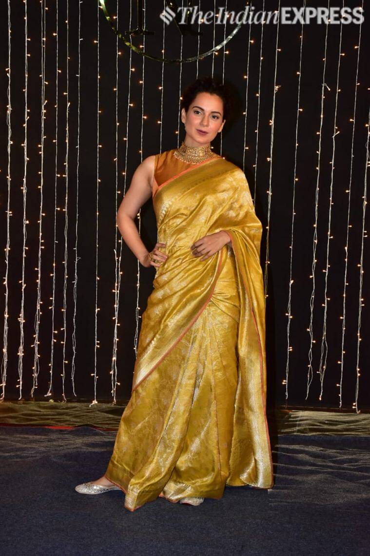 kangana at priyanka reception