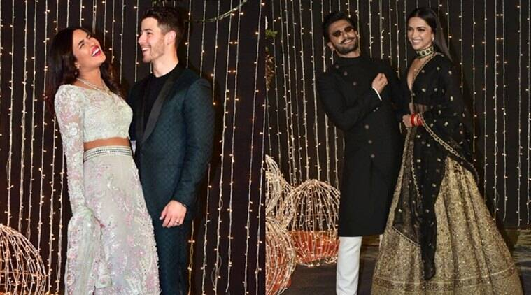 priyanka nick reception photos