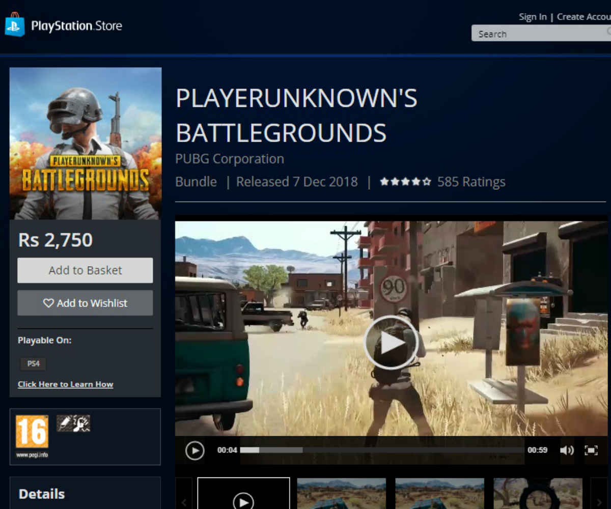 Pubg Available On Playstation 4 Basic Requirements Maps Bundles