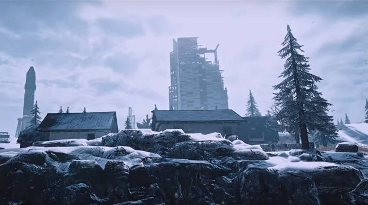 Pubg Mobile To Release Snow Map Vikendi On December 20: PUBG Mobile To Get 'Vikendi' Snow Map: Snowmobile