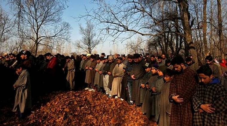 To protest against the killed, separatists have called for a three-day strike in the state. (Photo credit: Reuters)