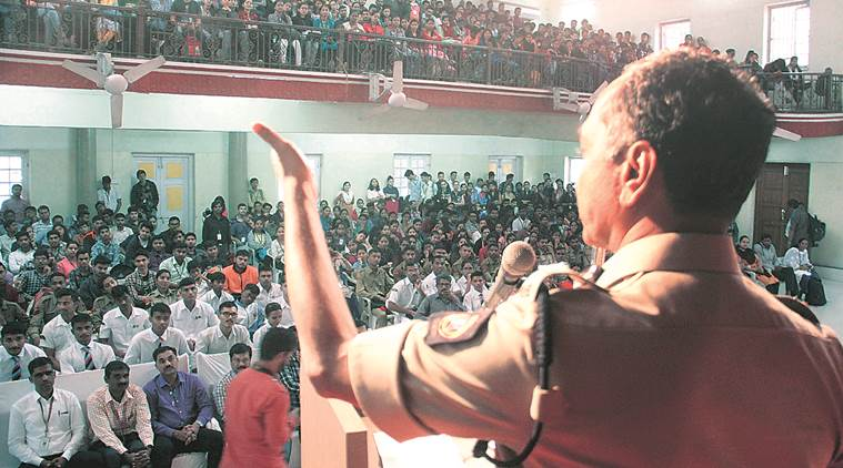 Discipline and traffic sensitivity: lessons from Police Commissioner to Pune's youth