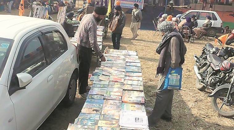 Punjabi magazine hailing accused of targeted killings on sale at meet