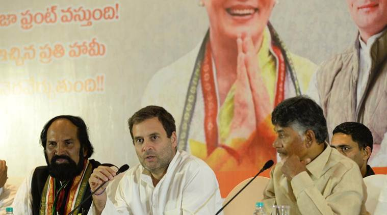 Elections 2018 LIVE: Rahul attacks KCR, says 17,000 cr surplus Telangana state now has debt of Rs 2 lakh cr