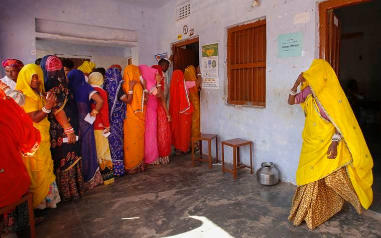 Rajasthan polls: All-woman polling booths evoke mixed response