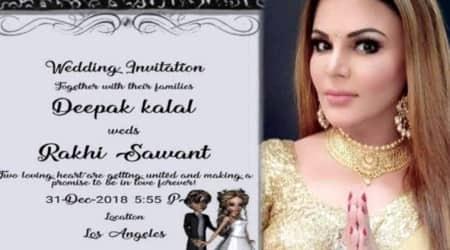 Rakhi Sawant, Deepak Kalal, Rakhi Sawant Marriage, Rakhi Sawant Deepak Kalal wedding, Rakhi Sawant wedding date, when is Rakhi Sawant getting married, twitter memes, viral memes, indian express, indian express news
