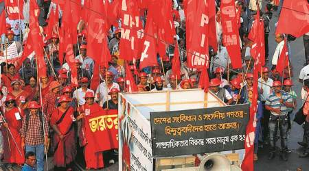 On day Babri Masjid was demolished, TMC, Left march to 'condemn communal politics'