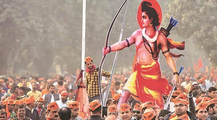ayodhya, ayodhya case, ayodhya row, ram temple in ayodhya, ram temple row, rss on ram temple construction, construction of ram temple, ayodhya news, indian express