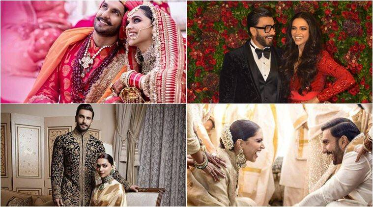 Deepika Padukone And Ranveer Singh From The Wedding In Italy To The