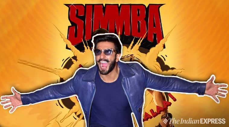 ranveer singh at simmba trailer launch
