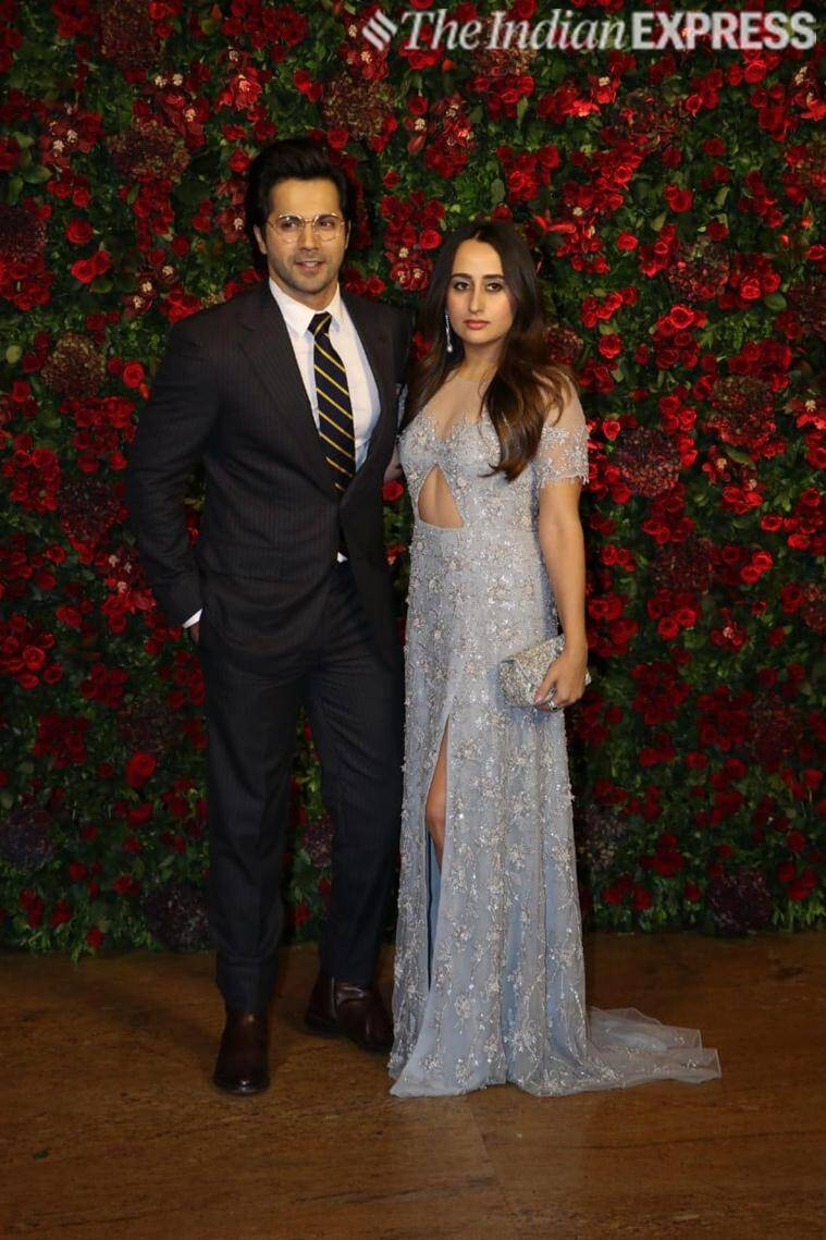 varun dhawan with girlfriend