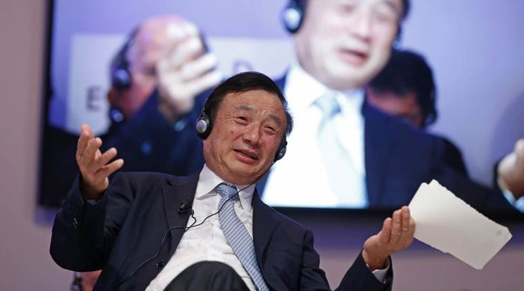 huawei, ren zhengfei, zte corp, chinese government, us, united states, meng wanzhou, meng wanzhou arrest, huawei cfo, telecom equipment, uk, us sanctions, iran, world news, indian express news