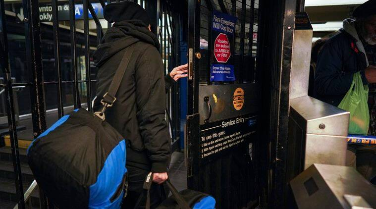 How rampant is fare evasion? At Times Square, one rider a minute sneaks in