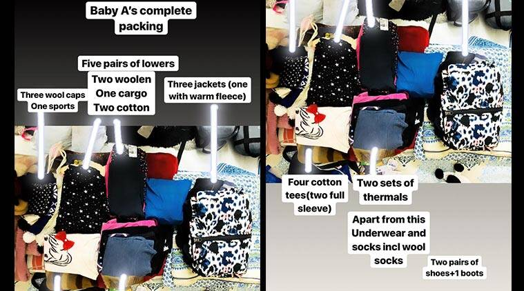 packing travel