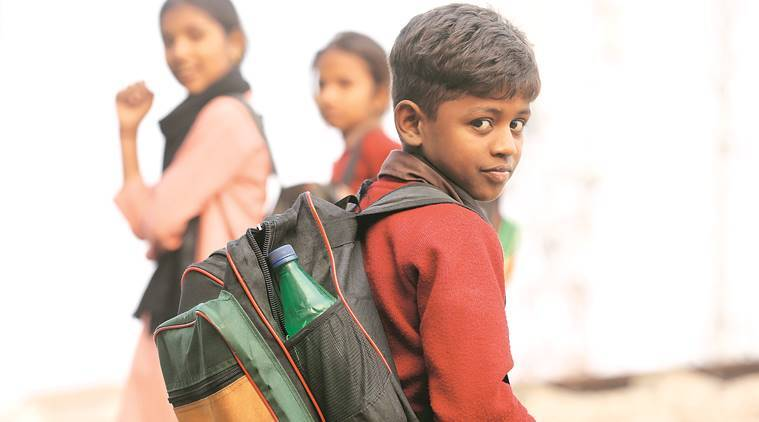 A day in the life of a Class 1 student's school bag: Sahil's world in a bag