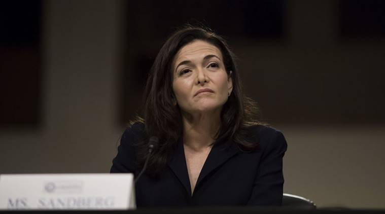 Facebook, Sheryl Sandberg, Facebook Chief Operating Officer, Facebook COO, Facebook US election, Facebook fake news, Facebook privacy