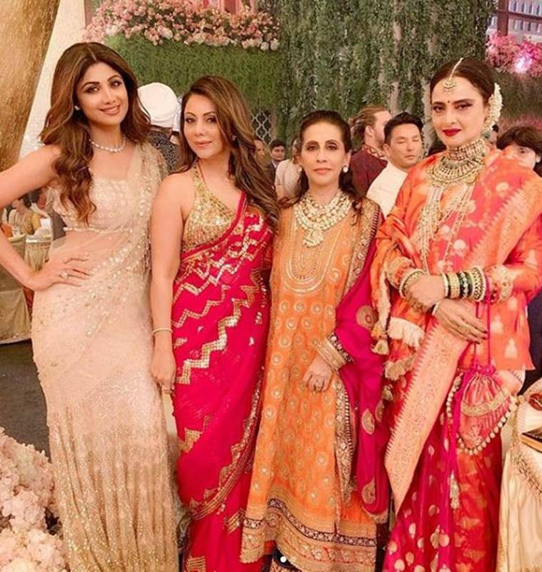 Isha ambani wedding inside photos