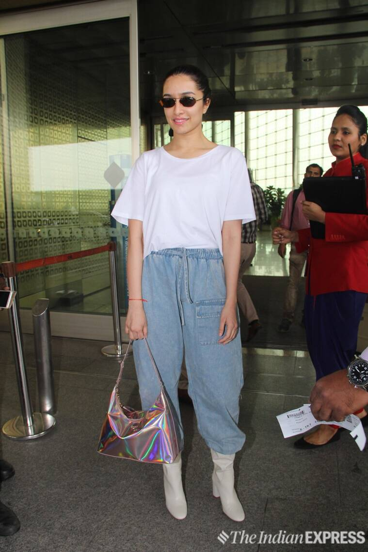 Kangana Ranaut, Shraddha Kapoor, Aditi Rao Hydari, Diana Penty, Kriti Sanon, Kangana Ranaut airport fashion, Shraddha Kapoor airport fashion, Diana Penty airport fashion, Aditi Rao Hydari airport fashion, Kriti Sanon airport fashion, celeb fashion, bollywood fashion, airport fashion bollywood, latest airport fashion, indian express, indian express news