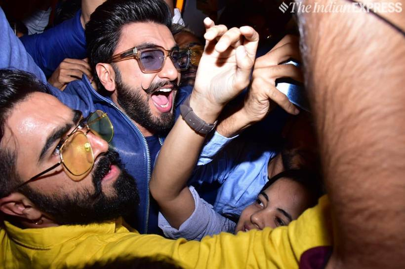 ranveer singh meets fans at simmba launch