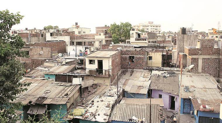 Chandigarh, Chandigarh news, Chandigarh colony demolition, slum-free Chandigarh, Indian Express news