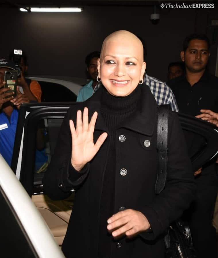 Sonali Bendre cancer India photos