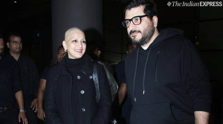 Sonali Bendre returns to Mumbai after months of treatment in NY