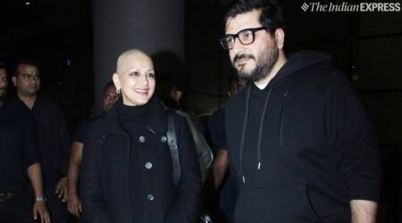 Sonali Bendre cancer India photos