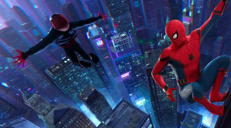 spiderman into the spider verse box office