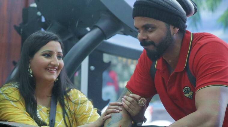 sreesanth wife bhuvneshwari kumari in bigg boss 12