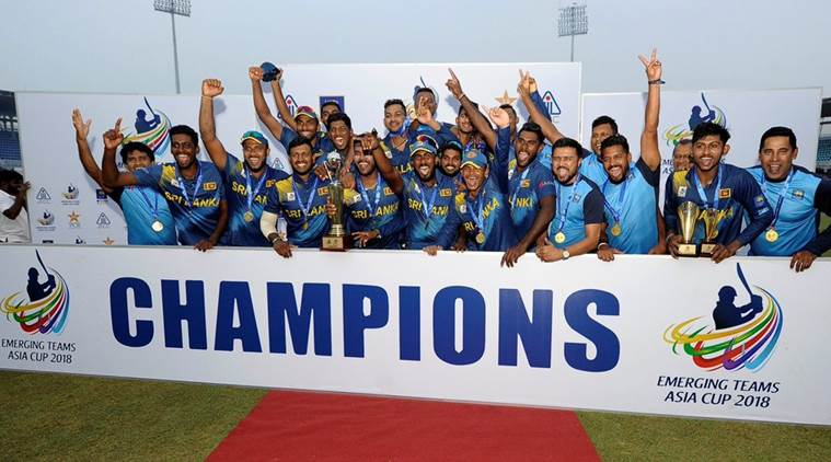 Sri Lanka beat India by three runs in final of 2018 Emerging Teams Asia Cup